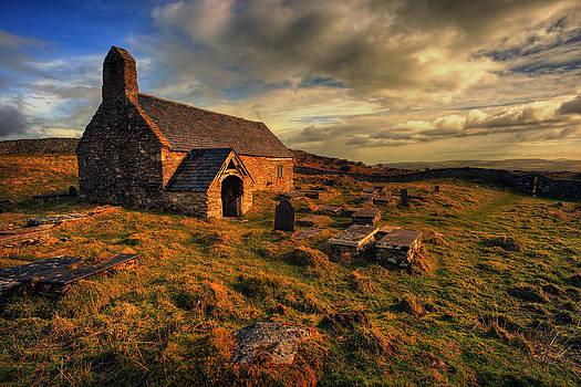 Llangelynnin Church Conwy by Mal Bray