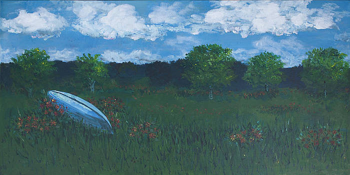 Llano Canoe by Molly Benson