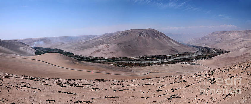 James Brunker - Lluta Valley Panoramic Chile