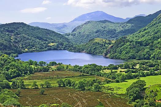 Llyn Gwynant Wales by Jane McIlroy
