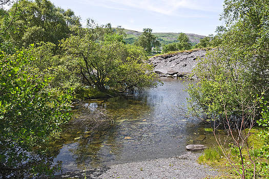 Llyn Padarn Shore by Jane McIlroy
