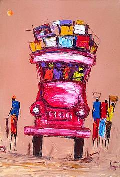 Loaded Truck by Francis Amoah
