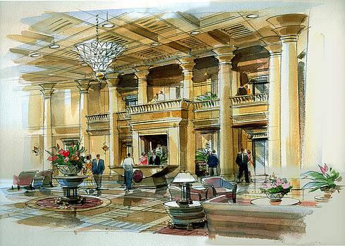 Lobby Concept Atlanta by Jack Adams