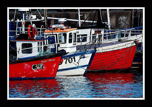 Lobster Boats by Frank Gaffney
