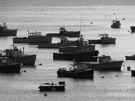 Christine Stack - Lobster Fleet BW