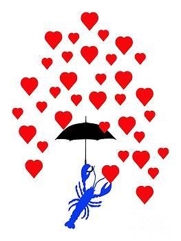 Lobster In Love by Julie Knapp