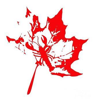 Julie Knapp - Lobster Leaf Red