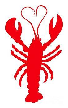 Julie Knapp - Lobster Love Heart Feelers