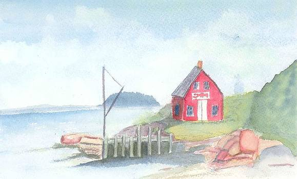 Lobster Shack by David Crowell
