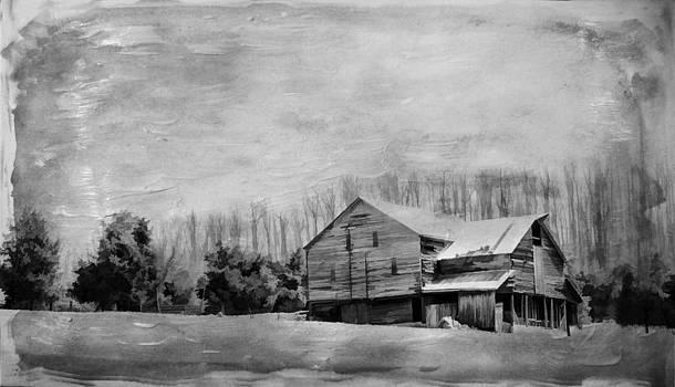 Local Barn by Kathy Jennings