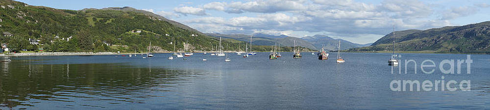 Loch Broom panorama by Howard Kennedy