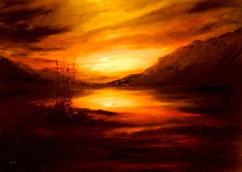 Loch Lochy by Jennifer  Blenkinsopp
