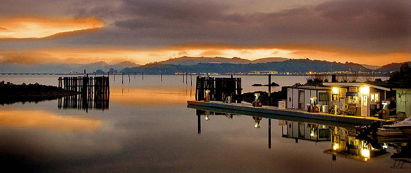 Loch Lomond Harbor by Michael Fahey
