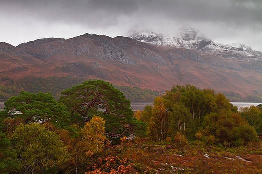 Loch Maree and the Slioch by Gabor Pozsgai