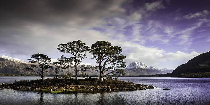 Loch Maree - Scottish Highlands by Bob Falconer