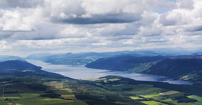 Veli Bariskan - Loch Ness From Above.