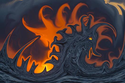 Loch Ness Monster by Angela A Stanton