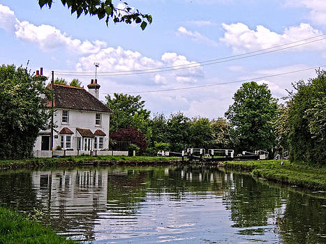 Lock 42 Cottage and Locks by Marilyn Holkham