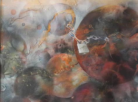 Locked in the heavens by Ilona Petzer