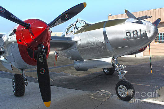 Gregory Dyer - Lockheed P-38L Lightning Honey Bunny  - 03