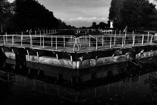 Locks Black and White by Pamela Lecavalier