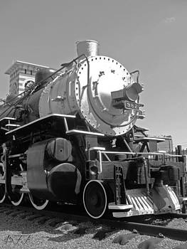 Locomotive in TX by Brooke Fuller