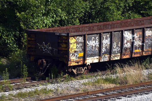 Bill Swartwout Fine Art Photography - Locust Point Gondola Graffiti