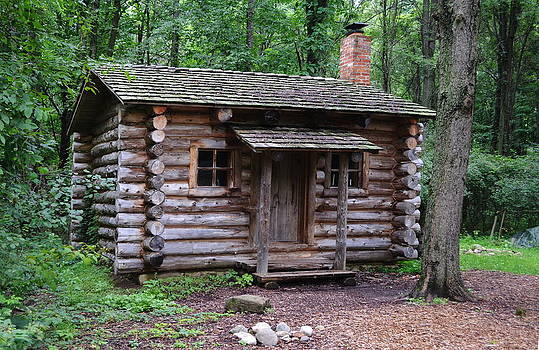 Log Cabin by Xcape Photography