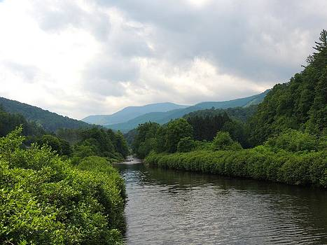 Logan River by Judy  Waller