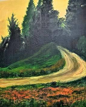 The Back Road by Jim Ellis