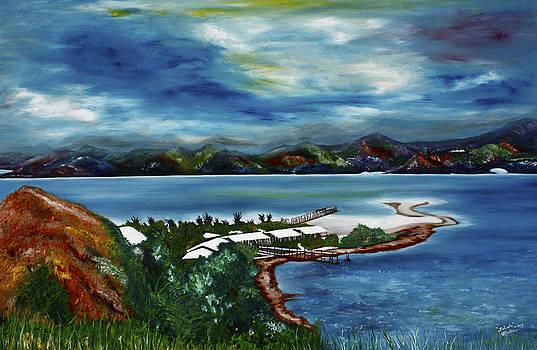 Loloata Island by Carol Tsiatsios
