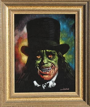 Lon Chaney in the movie London After Midnight by Diane Bombshelter