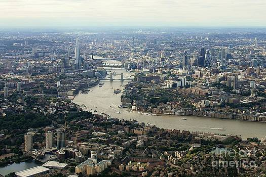 London from the Air by David Gardener