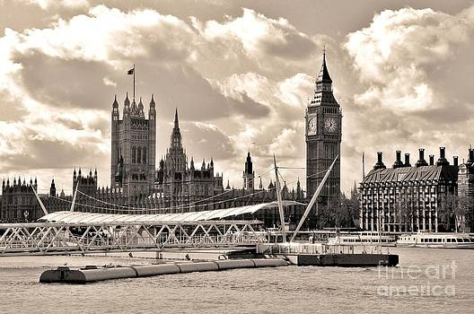 Palace of Westminster London by David Gardener
