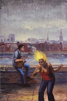 London Blues by Irina Sergeyeva