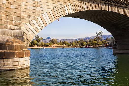 London Bridge at Lake Havasu City by Fred Larson