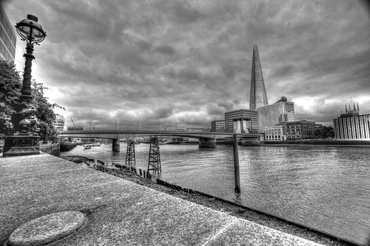 David French - London Bridge Shard night HDR