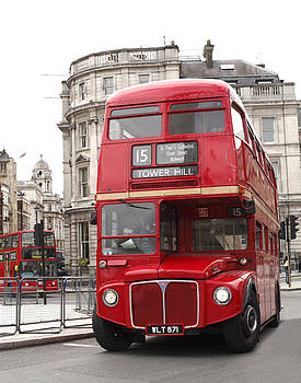 London Bus by Mark Richardson