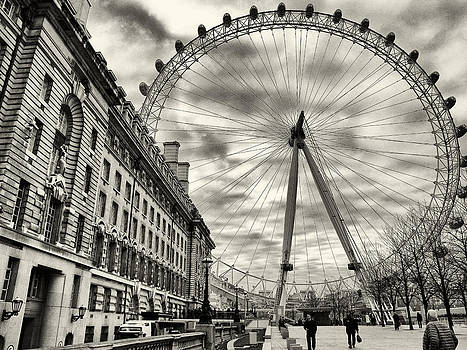 London Eye by Brian Orlovich