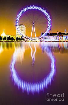 Algirdas Lukas - London eye reflection