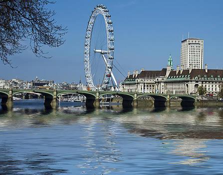 David French - London Eye Westminster Bridge