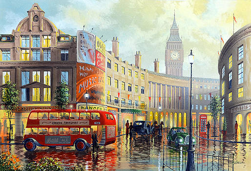 London Morning by Ken Shotwell