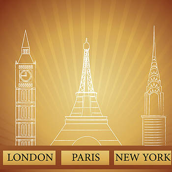 London Paris New York by Anne Marie Baugh