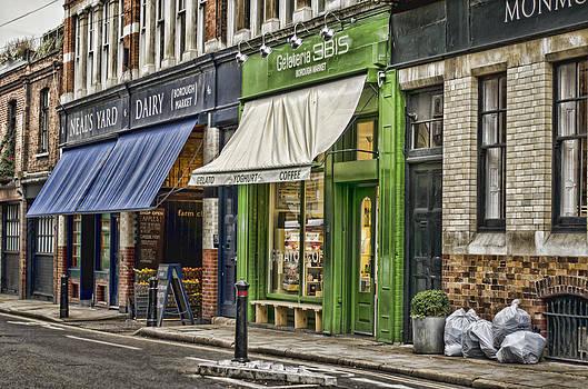 Heather Applegate - London Shop Fronts