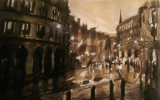 Paul Mitchell - London Street Ink Study