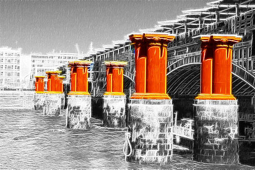 David French - London Thames Bridges Fractals
