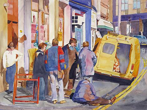 London Work Party by John Ressler