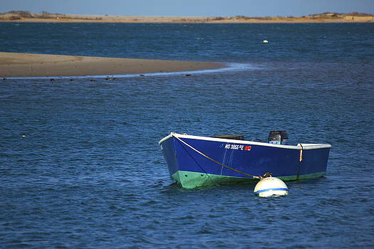 Amazing Jules - Lone Blue Boat
