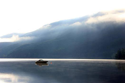 Connie Zarn - Lone boat