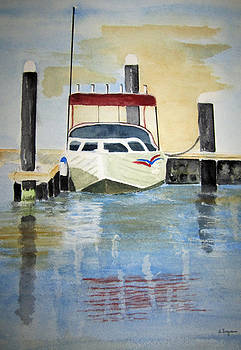 Lone Boat by Elvira Ingram